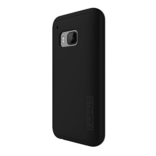 HTC One M9 Case, Incipio [Shock Absorbing] DualPro Case for HTC One M9-Black/Black