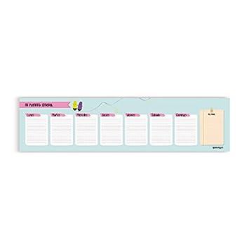 QuéWay! - Planning de sobremesa bajo teclado - Bloc de 56 ...
