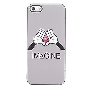 YXF Imagine Design Aluminium Hard Case for iPhone 5/5S