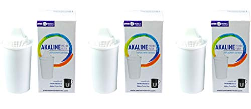 New Wave Enviro Alkaline Water Filter Replacement Cartridge - 3 Pack (New Wave Stage 10)