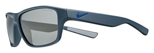 Nike EV0789-402 Premier 6.0 Sunglasses (Frame Grey with Gunmetal Flash Lens), Matte Squadron Blue/Racer - Base 6 Sunglasses