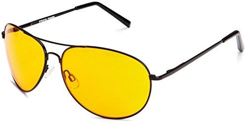 Gafas conducción unisex Amarillo de para nocturna 4sold OOxwq7rH