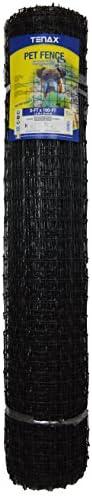 Tenax 2A140081 PET Fence PRO, 5 x 100 , Black