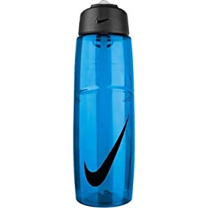 Nike T1 Flow Swoosh Water Bottle 32oz Game Royal/Obsidian