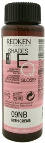 Creme Shade (Redken - Shades EQ Color Gloss 09NB - Irish Creme (2 oz.) 1 pcs sku# 1901166MA)