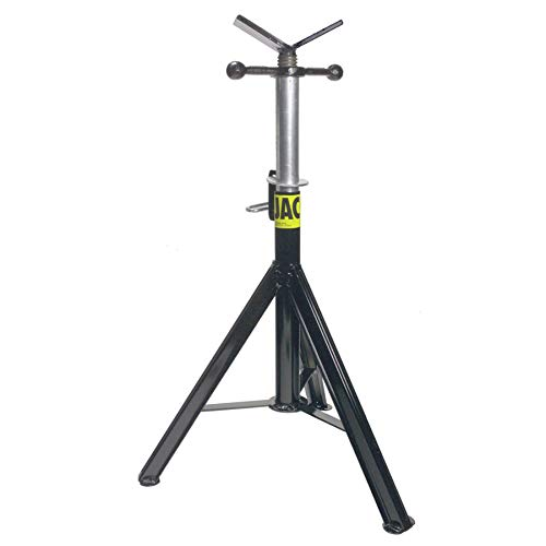 Sumner 780471 ST-871 Hi Pro Jack with Vee Head, 28'' to 49'' Adjustable Height, 2500 lb. Capacity by Sumner Manufacturing