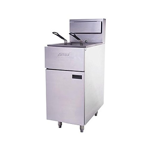 ANETS SLG40 Silverline Fryer, Gas, Floor Model, 35 - 50 Lb. Fat Capacity, 2 (Gas Commercial Fryer compare prices)