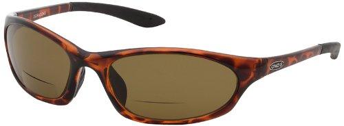ONOS Ocracoke Polarized Sunglasses (+1.5 Add Power), Tortoise Frame, Amber Lens -