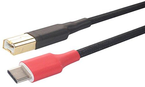 Price comparison product image Tc-Tb HIFI 5N OFC, OTG USB Type C To USB Type B FOR DAC etc, Tc-Tb (0.5M (1.64ft))