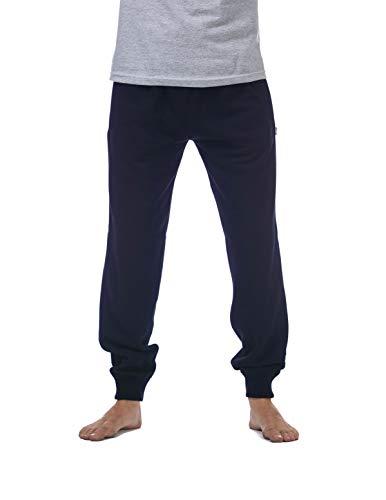 Pro Club Men's Jogger Fleece Long Pants, Navy, X-Large