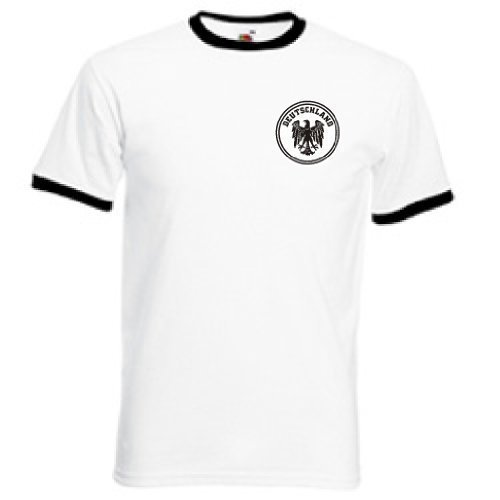 Amazon.com: Germany Deutschland German Football Soccer Team Retro T Shirt - All Sizes: Clothing