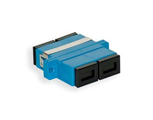 (SC Fiber Coupler Female/Female | Duplex Multimode / Singlemode Compatible SC to SC Female Fiber Optic Couplers | FiberCablesDirect | sc/sc female/female dx coupler single-mode mm sm)