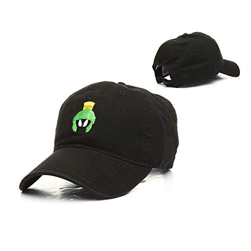 (Looney Tunes Marvin The Martian Washed Dad Hat)