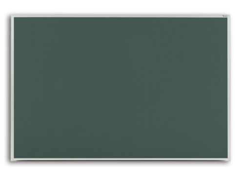 Marsh Pro-Lite 48''x120'' Green Porcelain Chalkboard, Standard Aluminum Trim / 2'' Map Rail by Marsh