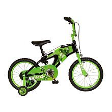 Cycle Force Group 73416-9 Kawasaki 16' Monocoque Boys- Black-Green