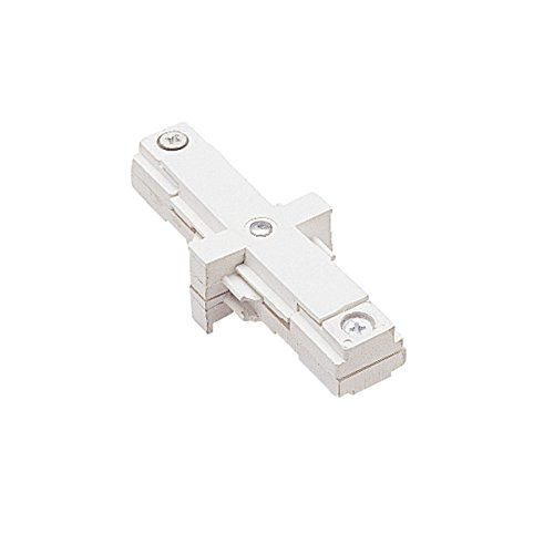 WAC Lighting J2-IDEC-WT J Track 2-Circuit Dead End I Connector, White