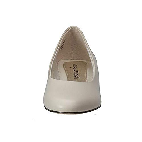 Easy Street Womens Halo Round Toe Classic Pumps Bone synthetic