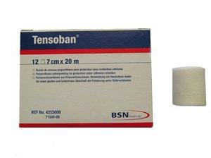 BSN Umreifung und Unterstützung, TENSOBAN pre-tape cm, 7 cm x 20 m – 1 X12, 71500–08