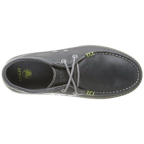 74f2d814e5308 on sale Crocs Mens Thompson II.5 Lace Moc Toe Loafer Shoes ...