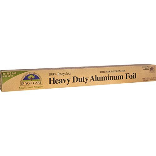 - If You Care 30 Square Feet Heavy Duty Aluminium Foil Roll, 1 Ounce