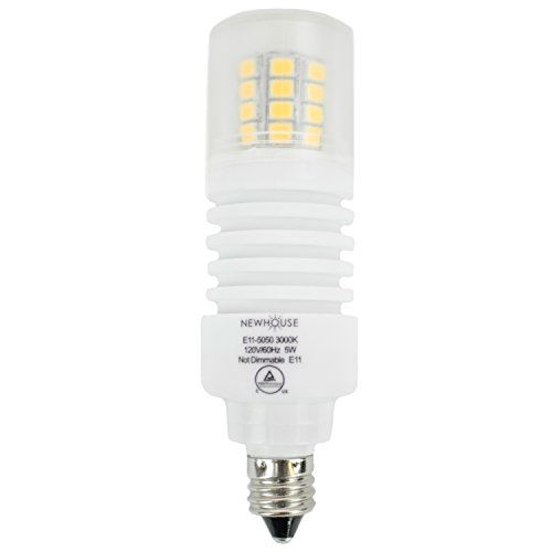 31mBC3Ubb1L newhouse lighting e11 led bulb halogen replacement lights, 5w (50w  at bayanpartner.co