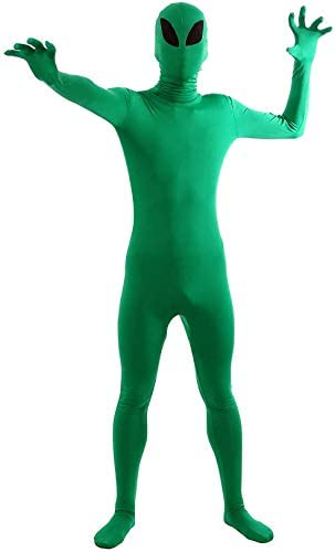 Gaoin Spandex Full Body Alien Costumes Bodysuits