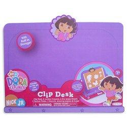 Jakks Pacific Flying Colors Dora The Explorer Activity Clip Desk