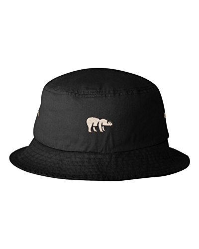 Jual Go All Out Adult Polar Bear Embroidered Bucket Cap Dad Hat ... 394192a18e