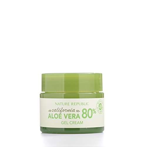 Nature Republic California Aloe Vera 80% Gel Cream, 50 Gram