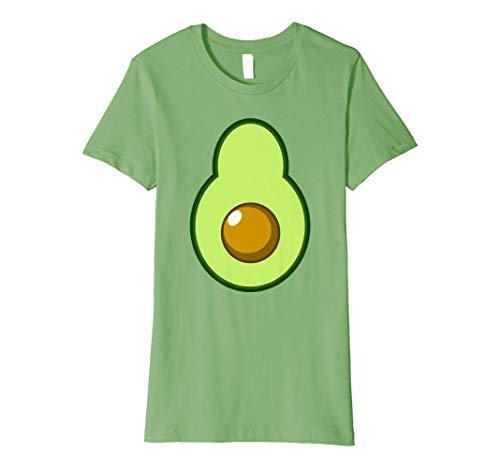 Womens Avocado Costume Halloween Funny Idea DIY T-Shirt Medium -