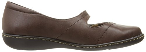Leather Suave Hush Puppies Jane Brown Estilo Mary plana Por Jayne Dark qHrxvqg