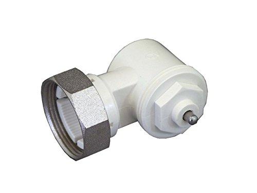 1011450 blanc 1/pi/èce Oventrop Adaptateur coud/é pour valve de HK