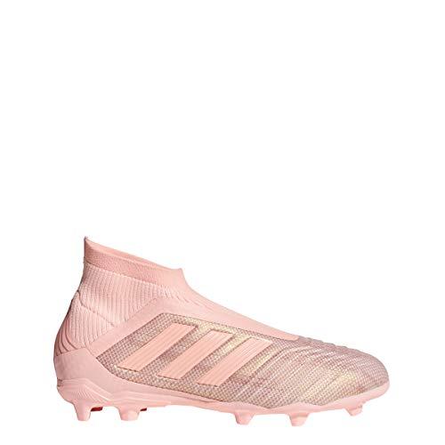 adidas Kid's Predator 18+ FG Soccer Cleat, 4.0 D(M) US, Clear Orange