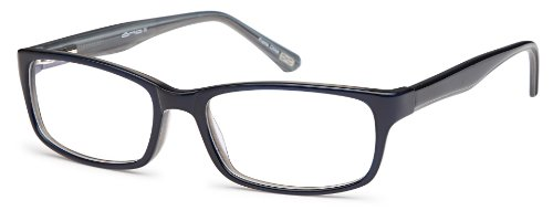 Unisex Prescription Eyeglasses Frames Size 53-17-140-32 Rxable in Navy Blue