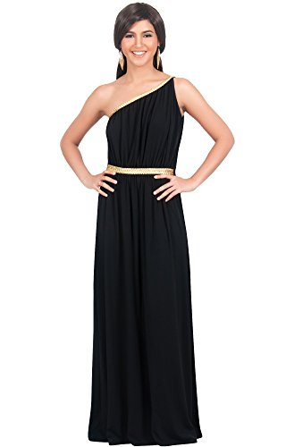 Womens Grecian Style Dress - 5