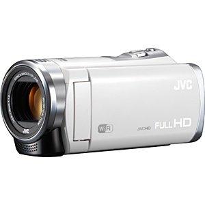 ビクター JVC SD対応 32GBメモリー内蔵フルハイビジョンビデオカメラ (シルキーホワイト)GZ-EX380-W