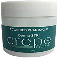 Crepe Gone Away Cream Body Souffle Helps Smooth, Plump, And Firm Dry, Aging Skin Pharmacist Created and Recommended