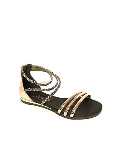 Fashion Follie Gold Divine Women's Sandals E4Rndwqa