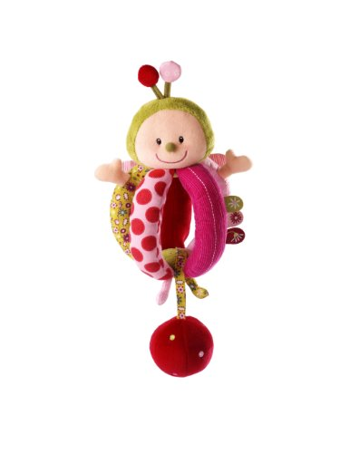 Lilliputiens Soft Rattle Activity Ball product image
