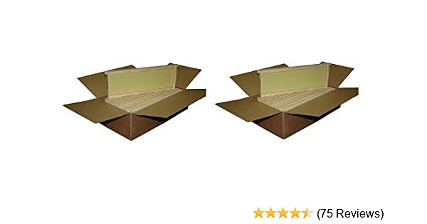 7ad68b767bc Amazon.com   Mann Lake WW926 10-Pack Assembled Commercial Frames with Waxed  Natural Rite-Cell Foundation
