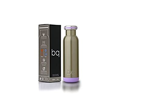 bq Vacuum Insulated Bottle 18//8 Stainless Steel Double Walled BPA Free Award Winning Designer Sport Water Bottle /& Thermos Keeping Your Drinks hot or Cold for a prolong Period of time FI Design Inc