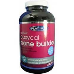 Platinum Naturals EasyCal Bone Builder, 240 -