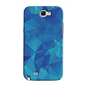 Cover It Up - Uneven Pixels Galaxy Note 2 N7100Hard Case