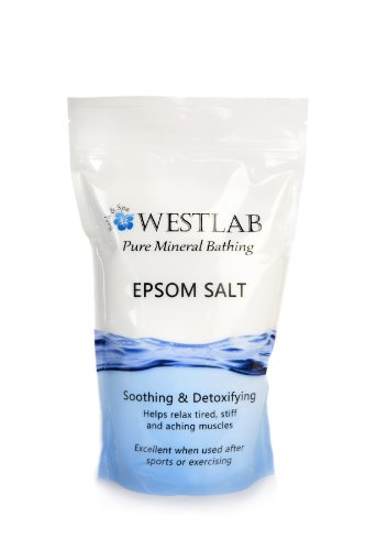 2 2lb 4 4lbs Epsom Salt unscented