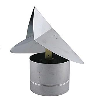 Amazon.com Wind Directional Chimney Cap - Galvanized 6 inch Home u0026 Kitchen  sc 1 st  Amazon.com & Amazon.com: Wind Directional Chimney Cap - Galvanized 6 inch: Home ...
