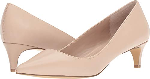 Charles by Charles David Women's Kitten Nude Leather 5 M US
