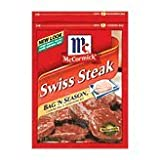 McCormick Bag 'n Season Swiss Steak, 1oz (Pack of 10)