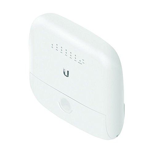 Ubiquiti Edgepoint 5-port 24-volt Gigabit Ethernet Poe Router - White - (EP-R6) - With 1-port SFP - WISP Control Point - Long Distance Connectivity