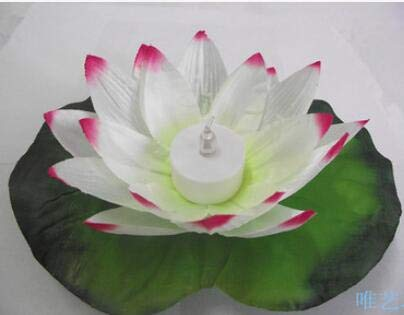 Gold Happy Automatic Color LED Electronic Lotus Wishing