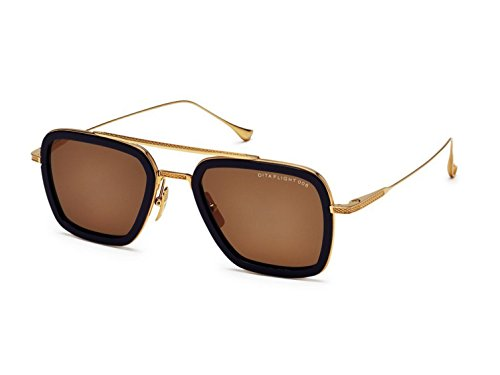 Sunglasses Dita FLIGHT. 006 7806 D-NVY-GLD Navy-18K Gold w/Dark - Men Sunglasses Dita